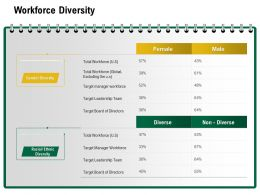 Workforce Diversity Target Board Ppt Powerpoint Presentation Pictures Aids