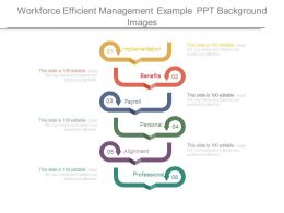 Workforce Efficient Management Example Ppt Background Images