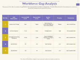 Workforce Gap Analysis Practice 1755 Ppt Powerpoint Presentation Ideas Background