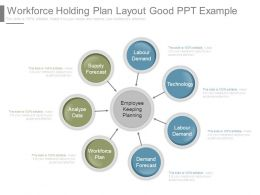 Workforce Holding Plan Layout Good Ppt Example