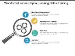 Workforce Human Capital Banking Sales Training Financial Research Management Cpb