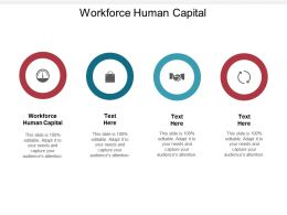 Workforce Human Capital Ppt Powerpoint Presentation Outline Layout Ideas Cpb