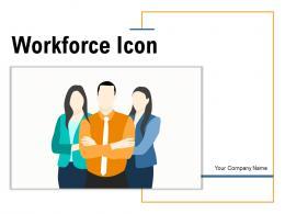 Workforce Icon Business Organization Target Marketing Communication Coordination