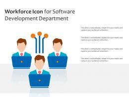 Workforce Icon For Software Development Department