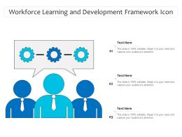 Workforce Learning And Development Framework Icon