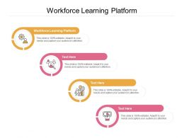 Workforce Learning Platform Ppt Powerpoint Presentation Icon Graphics Tutorials Cpb