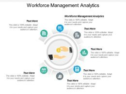 Workforce Management Analytics Ppt Powerpoint Presentation Layouts Ideas Cpb