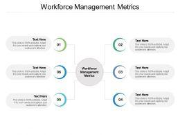 Workforce Management Metrics Ppt Powerpoint Presentation Show Cpb