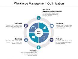Workforce Management Optimization Ppt Powerpoint Presentation Show Summary Cpb