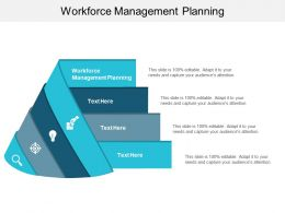 Workforce Management Planning Ppt Powerpoint Presentation Gallery Sample Cpb