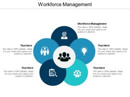 Workforce Management Ppt Powerpoint Presentation Infographics Format Ideas Cpb