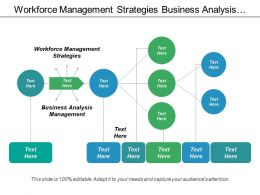 Workforce Management Strategies Business Analysis Management Product Development Cpb