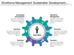 Workforce Management Sustainable Development Crm Process Management Performance Appraisal Cpb