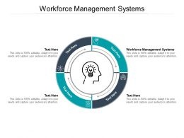 Workforce Management Systems Ppt Powerpoint Presentation Outline Graphics Pictures Cpb