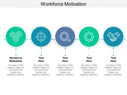 Workforce Motivation Ppt Powerpoint Presentation Layouts Cpb