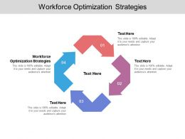 Workforce Optimization Strategies Ppt Powerpoint Presentation Ideas Cpb