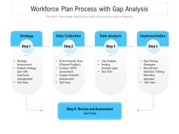 Workforce Plan Process With Gap Analysis