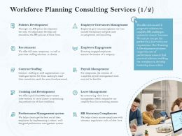 Workforce Planning Consulting Services Ppt Powerpoint Presentation Designs