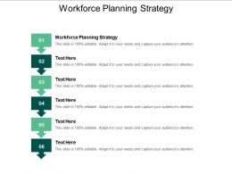 Workforce Planning Strategy Ppt Powerpoint Presentation Icon Example File Cpb