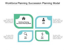 Workforce Planning Succession Planning Model Ppt Powerpoint Design Cpb