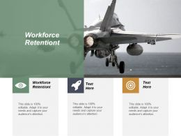 Workforce Retentiont Ppt Powerpoint Presentation Inspiration Skills Cpb