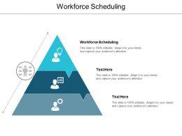 Workforce Scheduling Ppt Powerpoint Presentation Styles Background Cpb