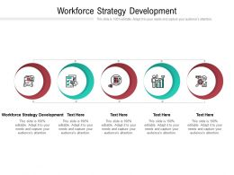 Workforce Strategy Development Ppt Powerpoint Presentation Professional Cpb