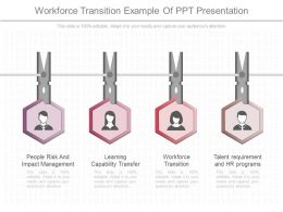 Workforce Transition Example Of Ppt Presentation
