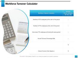 Workforce Turnover Calculator Same Period Ppt Powerpoint Presentation Designs