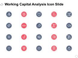 Working Capital Analysis Icon Slide Winner L392 Ppt Powerpoint Slides