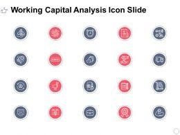 Working Capital Analysis Icon Slide Winner L392 Ppt Powerpoint Slides