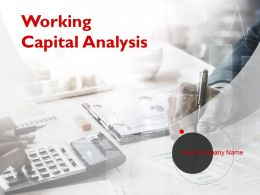 Working Capital Analysis Powerpoint Presentation Slides