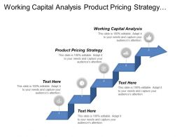 Working Capital Analysis Product Pricing Strategy Lending Price Management Cpb