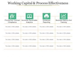 Working Capital And Process Effectiveness Ppt Sample Download