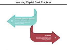 Working Capital Best Practices Ppt Powerpoint Presentation Icon Templates Cpb