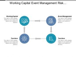 Working Capital Event Management Risk Management Business Finance Cpb