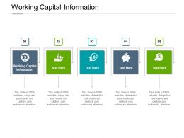 Working Capital Information Ppt Powerpoint Presentation Inspiration Styles Cpb