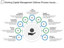 Working Capital Management Defines Process Issues Terms And Conditions