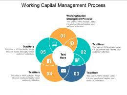 Working Capital Management Process Ppt Powerpoint Presentation File Graphics Template Cpb