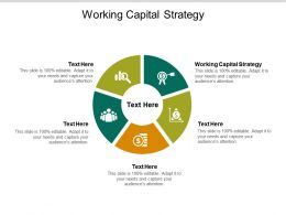Working Capital Strategy Ppt Powerpoint Presentation Infographic Template Elements Cpb
