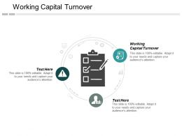 Working Capital Turnover Ppt Powerpoint Presentation Layouts Guidelines Cpb