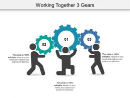 Working Together 3 Gears