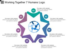 Working Together 7 Humans Logo