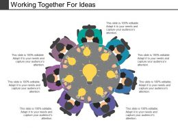 Working Together For Ideas