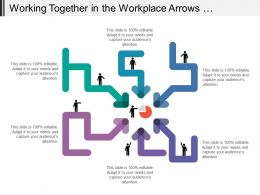 Working Together In The Workplace Arrows