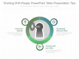 Working With People Powerpoint Slides Presentation Tips