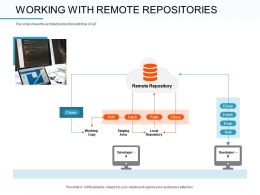 Working With Remote Repositories Fetch Ppt Powerpoint Presentation Microsoft