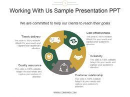 Working With Us Sample Presentation Ppt