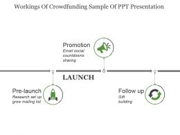 Workings Of Crowdfunding Sample Of Ppt Presentation