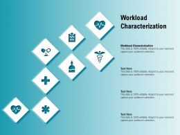 Workload Characterization Ppt Powerpoint Presentation Slides Background
